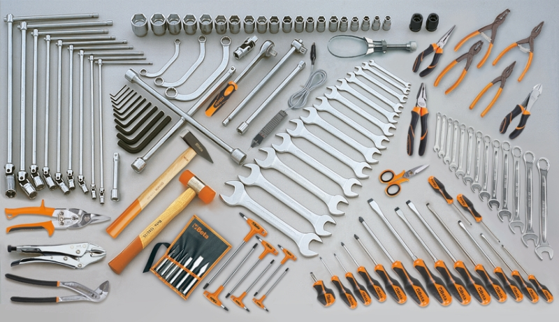 Assortment of 118 tools category image